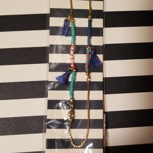 Keep beaded necklace